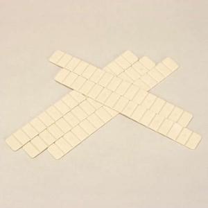 フソー化成 【ケース販売特価 100袋セット】 万能両サドル φ10~φ60 アイボリー (サドル×10本/袋、ビス×20本/袋) VS-60_set