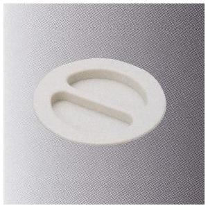 桃陽電線 【ケース販売特価 200個セット】 ウォールキャップ蓋 アイボリー WCF-60_set