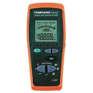 FUSO 3レンジデジタル絶縁抵抗計 TM-507