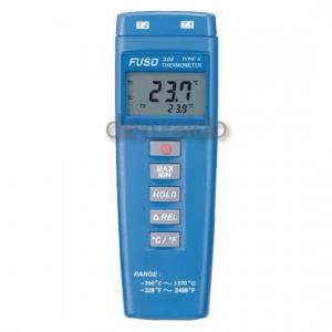 FUSO デジタル温度計 2点式 FUSO-308