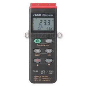 FUSO データロガー温度計 2チャンネル FUSO-306