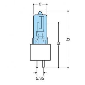 フェニックス 【ケース販売特価 10個セット】 ハロゲンランプ 110V 60W G5.35口金 JD110V60WG5.35_set