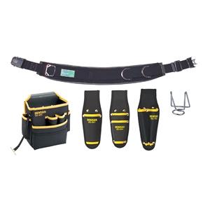 ジェフコム 腰道具セット キャンバスタイプ NDS-R98BK-SET