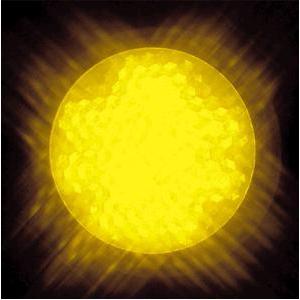 ジェフコム 【ケース販売特価 10個セット】 屋外用LEDサイン球 黄 E26口金 P18W-E2601-Y_set