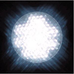 ジェフコム 【ケース販売特価 10個セット】 屋外用LEDサイン球 白 E26口金 P18W-E2601-W_set