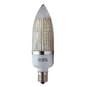 ジェフコム 【ケース販売特価 10個セット】 LEDシャンデリア電球 3W 昼光色 全光束:220lm E17口金 LLB56-E17BD_set
