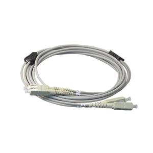ジェフコム 外装付オプティカルファイバーパッチケーブル シングルモード 10m LARM-SCSM-10