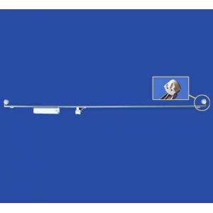 ナニワ 【ケース販売特価 10台セット】 片スプリング式 S型看板用蛍光灯ホルダー 40W形 200V 50Hz グロー球付 KS402AC_set