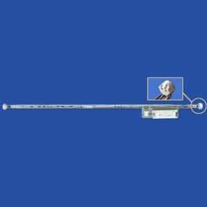 ナニワ 【ケース販売特価 10台セット】 片スプリング式 Ⅰ型看板用蛍光灯ホルダー 32W形 200V 60Hz (グロー球付) KI322BC_set