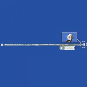 ナニワ 【ケース販売特価 20台セット】 片スプリング式 型看板用蛍光灯ホルダー 20W形 100V 50Hz グロー球付 KI201AC_set