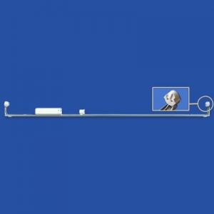 ナニワ 【ケース販売特価 10台セット】 片スプリング式 L型看板用蛍光灯ホルダー 40W形 200V 60Hz グロー球付 KL402BC_set