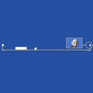 ナニワ 【ケース販売特価 10台セット】 片スプリング式 L型看板用蛍光灯ホルダー 32W形 200V 60Hz グロー球付 KL322BC_set