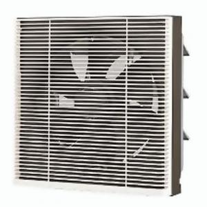 東芝 一般換気扇:居間・事務所・店舗用 スタンダード格子タイプ 30cm 風圧式 壁スイッチ(別売) VF-30S1