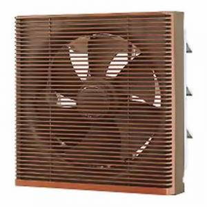 東芝 一般換気扇:居間・事務所・店舗用 インテリア格子タイプ 20cm 電気式 壁スイッチ(別売) 木目 VFM-20SC