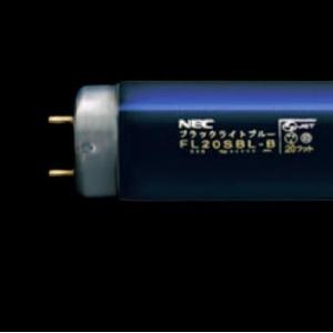 NEC 【ケース販売特価 10本セット】 ブラックライトブルー蛍光灯 直管 グロースタータ形 20W FL20SBL-B_set