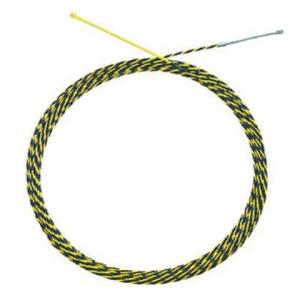 マーベル JetラインIT 長さ:50m 線径:φ6.2mm 使用安全耐荷重:絶縁体部-1.4kN(142kgf)/ワイヤー部-3.4kN(346kgf) MW-705I