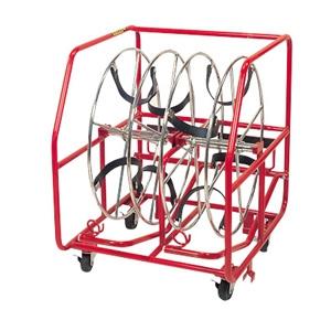 プロメイト 電線リール 自動ブレーキ付 2連 E-9102