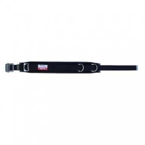 マーベル 柱上安全帯用ベルト スライドバックルタイプ 広幅補助ベルト付 高級ソフトクッション 軽量 黒 MAT-100B