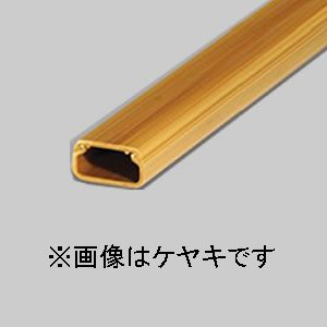 マサル工業 【ケース販売特価 50本セット】 ニュー・エフモール 木目色 3号 1m ケヤキ SFM376_set