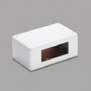 マサル工業 【ケース販売特価 10個セット】 《床面用配線モール ガードマンⅡ 付属品》 コンセントボックス ホワイト GAK12_set
