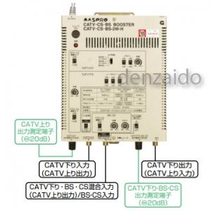 マスプロ CATV・BS・CSブースター 40dB型 BL型 CATV・CS・BS・2W-H