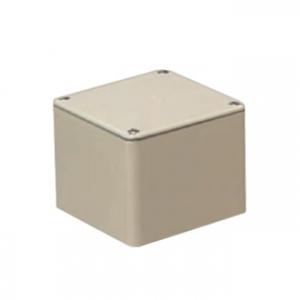 未来工業 【お買い得品 8個セット】 防水プールボックス 平蓋 正方形 ノックなし 150×150×150 ベージュ PVP-1515AJ_8set