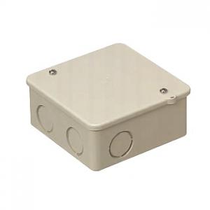 未来工業 【お買い得品 50個セット】 PVKボックス 中形四角浅型 ノック付き ベージュ PVK-ANJ_50set