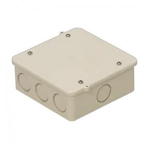 未来工業 【お買い得品 20個セット】 PVKボックス 大形四角浅型 ノック付き ベージュ PVK-ALNJ_20set