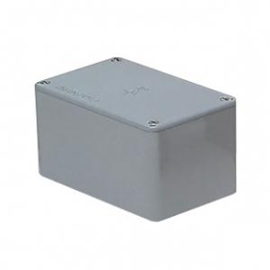 未来工業 プールボックス 長方形 ノックなし 400×350×350 グレー PVP-403535