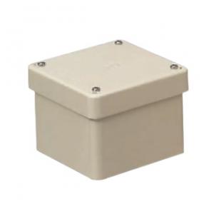 未来工業 【お買い得品 2個セット】 防水プールボックス カブセ蓋 正方形 ノックなし 250×250×100 ベージュ PVP-2510BJ_2set