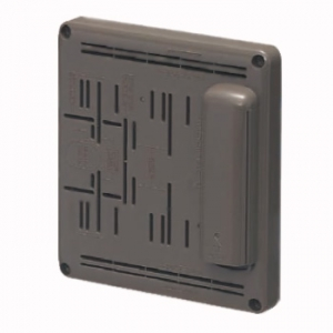 未来工業 【お買い得品 10個セット】 電話保安器用ポリ台 ライトブラウン POW-1815TLB_10set