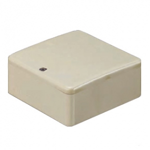 未来工業 【お買い得品 50個セット】 PVKボックス Fタイプ 中形四角浅型 ノックなし グレー PVK-AFO_50set