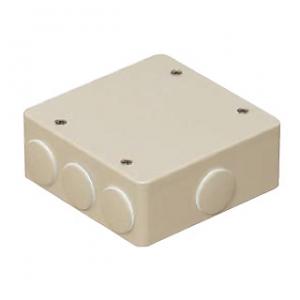 未来工業 PVKボックス 防水タイプ 大形四角浅型 PVK-ALNP グレー 激安 激安特価 送料無料 おねじキャップ付 希望者のみラッピング無料