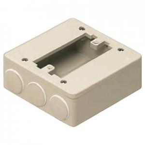 未来工業 【お買い得品 10個セット】 PVKボックス 器具用 ミルキーホワイト PVK-ALN1PKM_10set