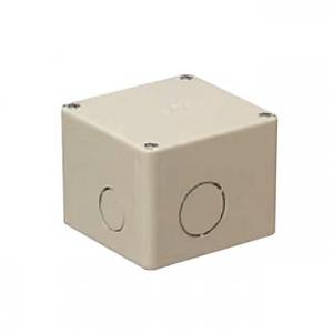未来工業 【お買い得品 10個セット】 プールボックス 正方形 ノック付き 150×150×100 ベージュ PVP-1510NJ_10set