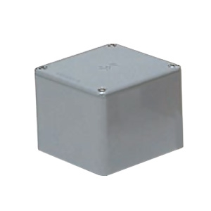 未来工業 防水プールボックス 平蓋 正方形 ノックなし 600×600×600 グレー PVP-6060A