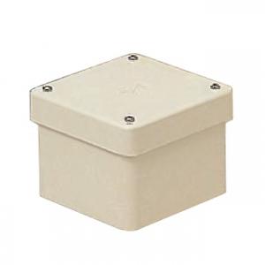 未来工業 【お買い得品 8個セット】 防水プールボックス カブセ蓋 正方形 ノックなし 200×200×150 ミルキーホワイト PVP-2015BM_8set