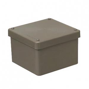 未来工業 【お買い得品 8個セット】 防水プールボックス カブセ蓋 正方形 120×120×80 チョコレート PVP-1208BT_8set