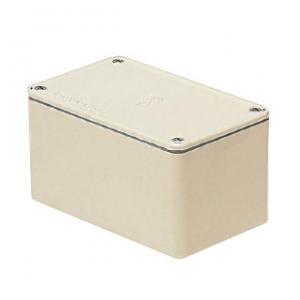 未来工業 防水プールボックス 平蓋 長方形 ノックなし 400×300×200 ミルキーホワイト PVP-403020AM