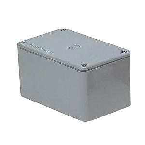 最新発見 ノックなし 長方形 PVP-605045A:電材堂 平蓋 グレー 未来工業 防水プールボックス 600×500×450-DIY・工具