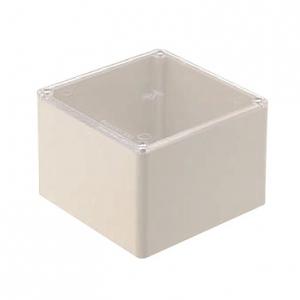 未来工業 【お買い得品 10個セット】 プールボックス 正方形 透明蓋 ノックなし 100×100×100 ベージュ CPVP-1010J_10set
