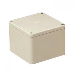 未来工業 【お買い得品 8個セット】 防水プールボックス IPX6型 正方形 カブセ蓋フラットタイプ ノックなし 150×150×75 ベージュ PVP1507PJ_8set