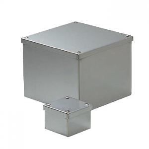 新発売の 未来工業 アース端子付 防水カブセ蓋 507×507×500 SUP-5050BE:電材堂 ステンレスプールボックス-DIY・工具