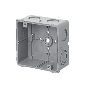 未来工業 【お買い得品 50個セット】 埋込四角アウトレットボックス 中形四角深型 CDO-4B_50set