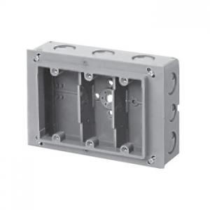 未来工業 【お買い得品 20個セット】 埋込スイッチボックス 塗代付 プラスチック製セーリスボックス 3個用 CSW-3N_20set
