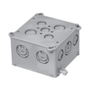 未来工業 【お買い得品 20個セット】 四角コンクリートボックス 大深形(75mm) 側面ノックアウト無 4CBL-75_20set