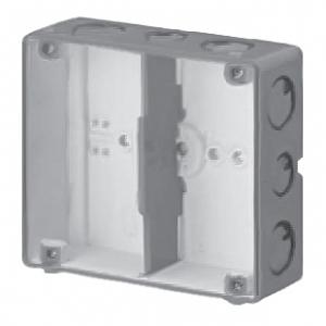 未来工業 【お買い得品 20個セット】 結露防止 埋込スイッチボックス 塗代無 2個用 CSW-2N-ODK_20set