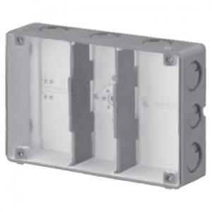 未来工業 【お買い得品 20個セット】 結露防止 埋込スイッチボックス 塗代無 3個用 CSW-3N-ODK_20set
