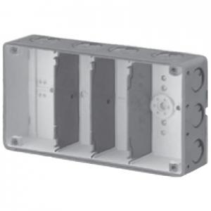 未来工業 【お買い得品 10個セット】 結露防止 埋込スイッチボックス 塗代無 4個用 CSW-4N-ODK_10set