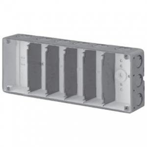 未来工業 【お買い得品 10個セット】 結露防止 埋込スイッチボックス 塗代無 6個用 CSW-6N-ODK_10set